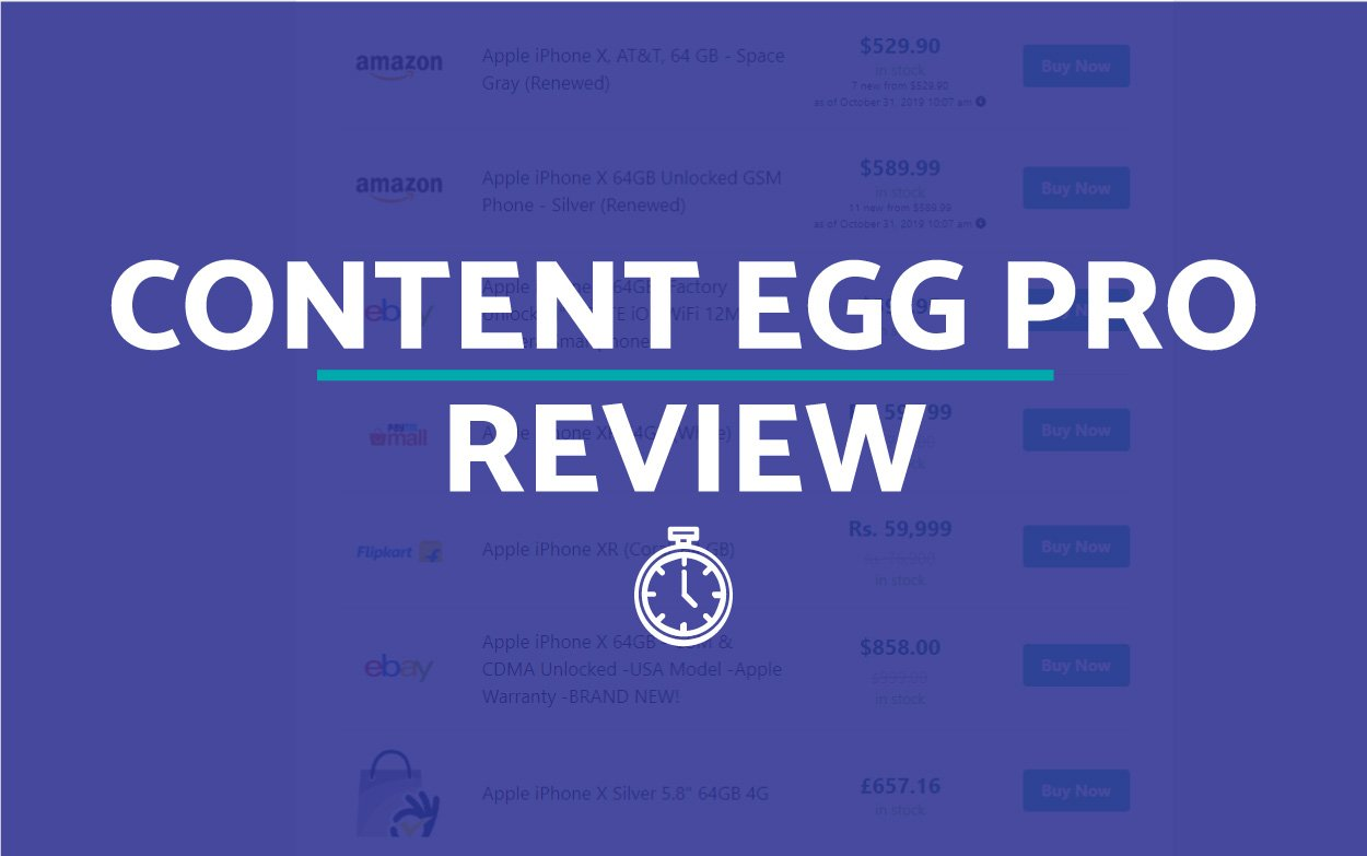 Content Egg Plugin Review