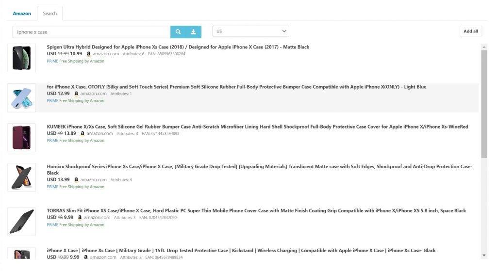 Content Egg Amazon Search Module