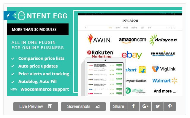 Content Egg Pro Review