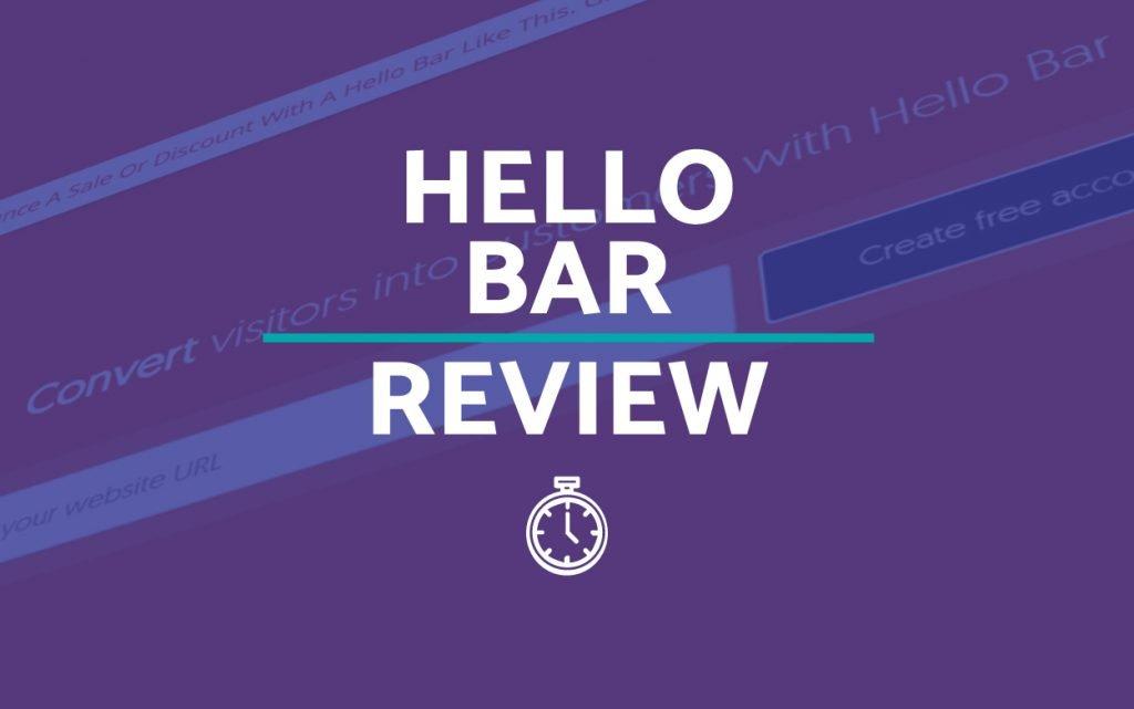 Hello Bar Reviews and Alternatives